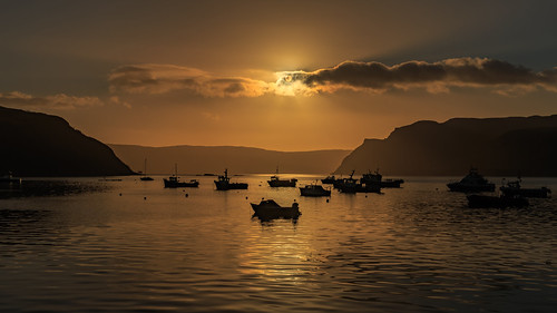 sunset sun skye set sunrise canon gold dawn scotland prince 5d rise portree mkiii 2470mm canon2470mm canon5dmkiii 28ii canon2470mm28ii