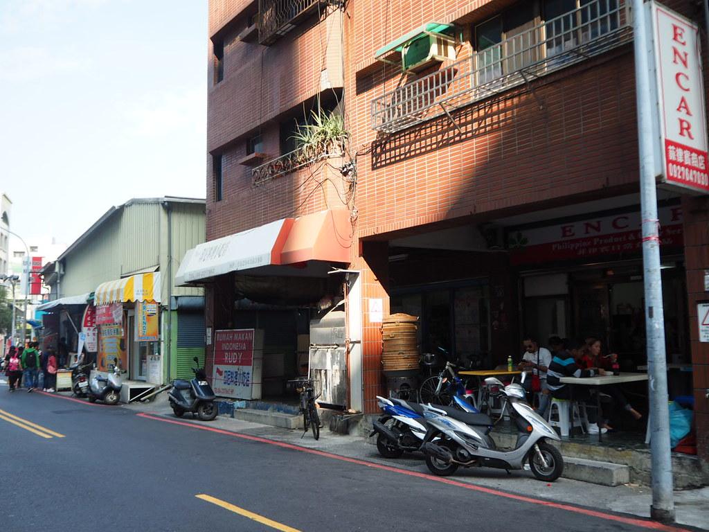 甜在心咖啡館付近のインドネシア人街