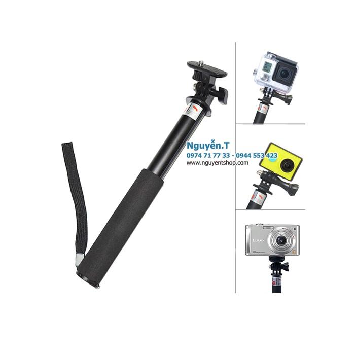 Gậy monopod selfie stick 2in1 GoPro hero 75cm