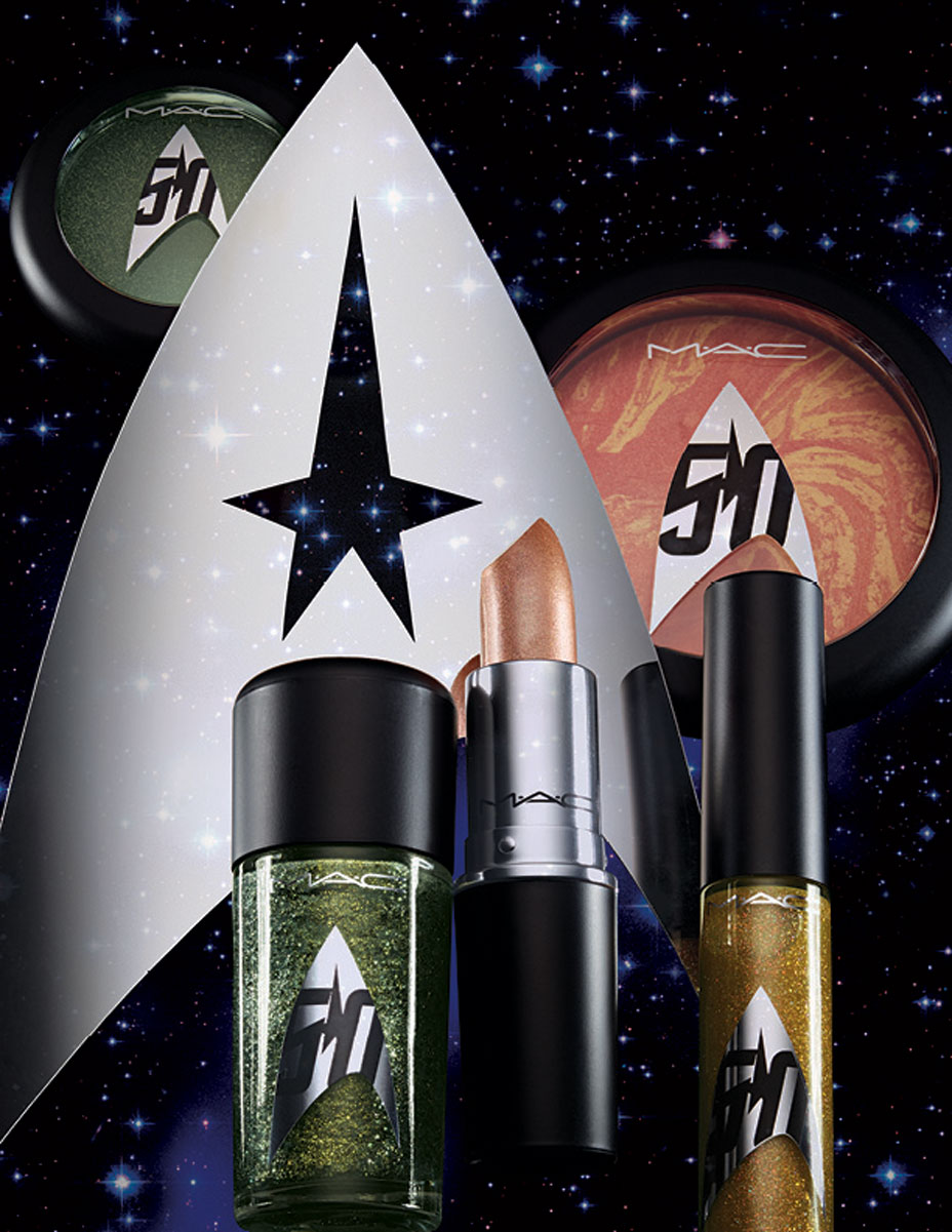 MAC x Star Trek Collection for September 2016