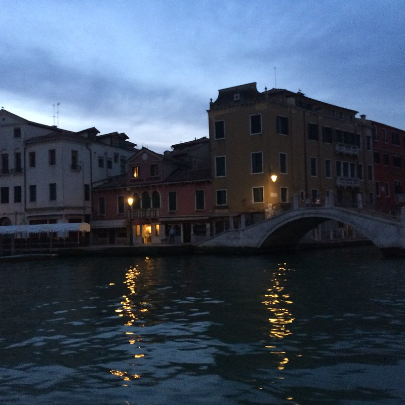 Letter from Venice - What the Morning Commuter Sees, Lido