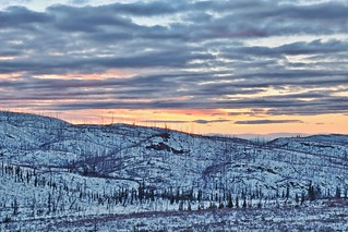 Sunset in the Hills - Exposure Blended