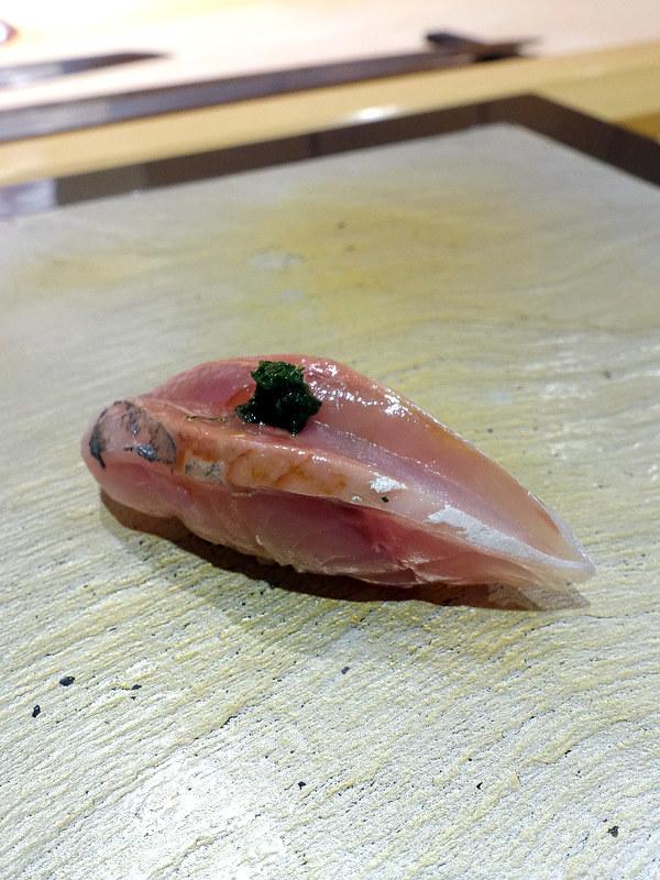 Sushi Iwa Ginza- Aji (Horse Mackerel)