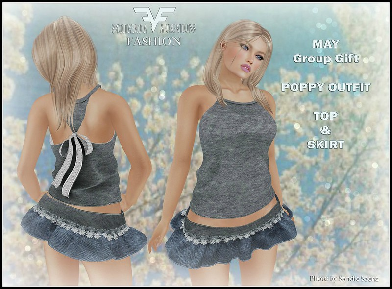 May Group Gift: Poppy Outfit