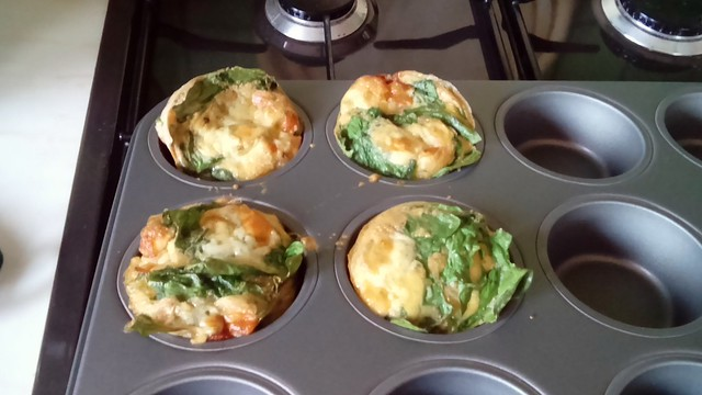 Omelette muffins!