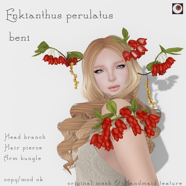 *NAMINOKE* Enkianthus red AD