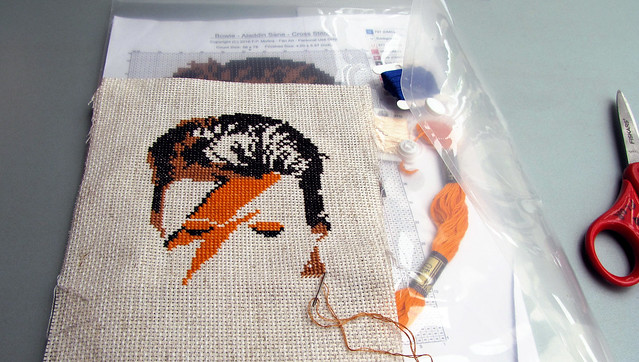 Bowie in progress