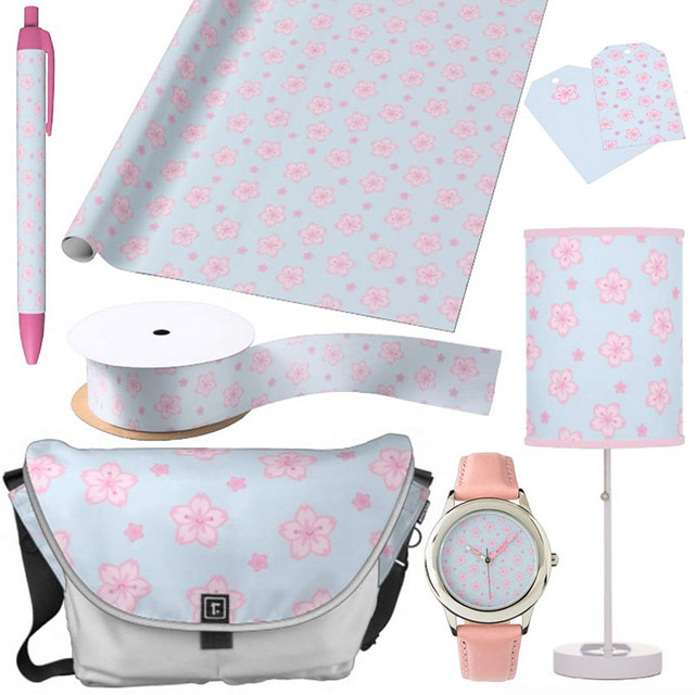 Sakura Blossoms at Zazzle