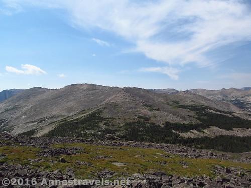 Across Roaring Fork Mountain, Wind River Range, Wyoming