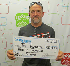 Timothy Tannahill - $30,000 Kaleidoscope Cashword