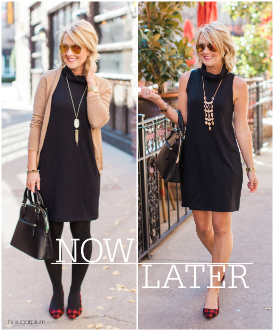 Hi Sugarplum | Little Black Dress Now & Later