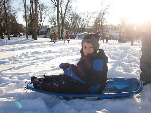 sledding jan1-3