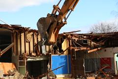Faubion Demolition Begins 1-25-16