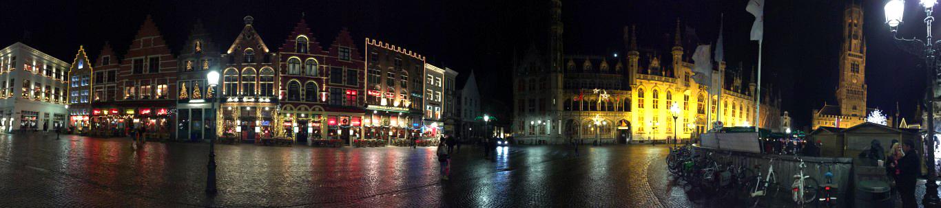 Plaza del mercado en Brujas brujas en un día - 24048700510 118922a363 o - Recorrer Brujas en un día