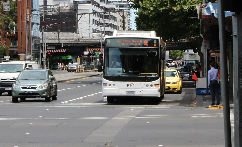 Yarra Trams route 96 bustitution