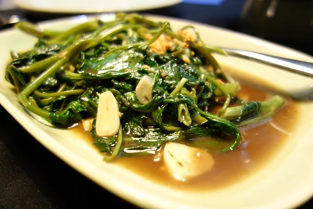 青菜の炒めモノ