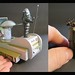 Details from the Robby the Robot Parade Float Diorama by Michael Paul Smith