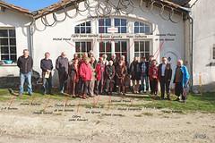 029 - Rendez-vous en la mémoire de Patrick Plaine devant le musée de Croix Gente - Photo of Jussas
