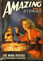 Amazing Stories Vol. 21, No. 1 (Jan., 1947). Cover Art by H. W. McCauley
