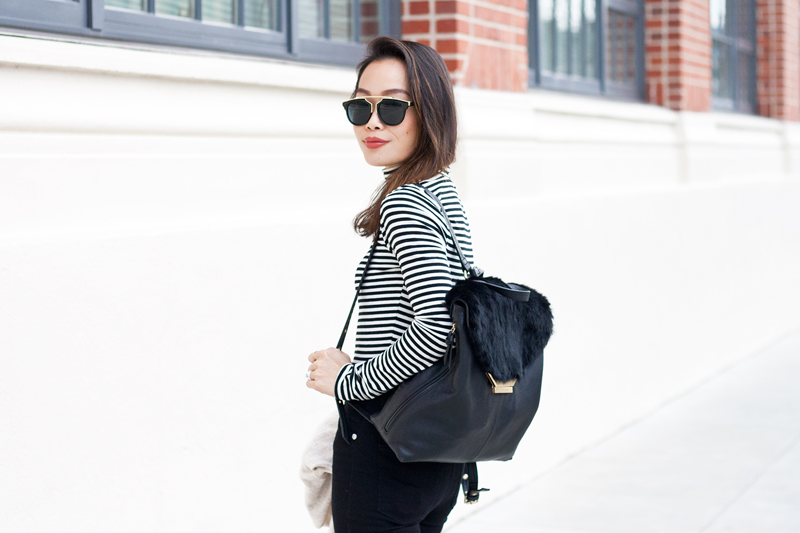 02-fur-backpack-black-white-stripes-sf-style-fashion