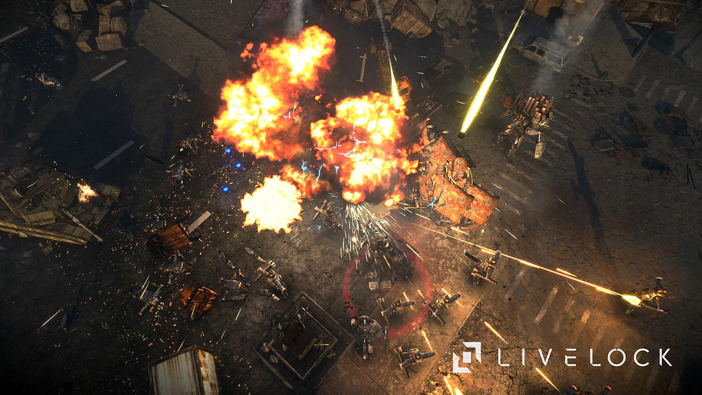 Livelock juego cooperativo de disparos shooter para PS4