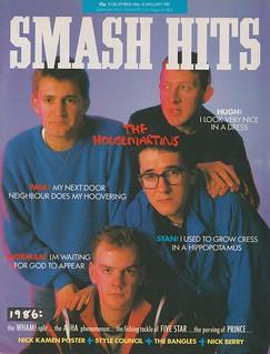 Smash Hits, December 31, 1986