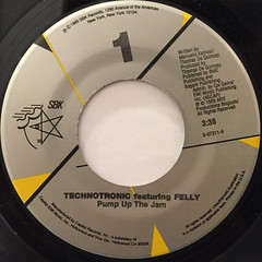 TECHNOTRONIC:PUMP UP THE JAM(LABEL SIDE-A)
