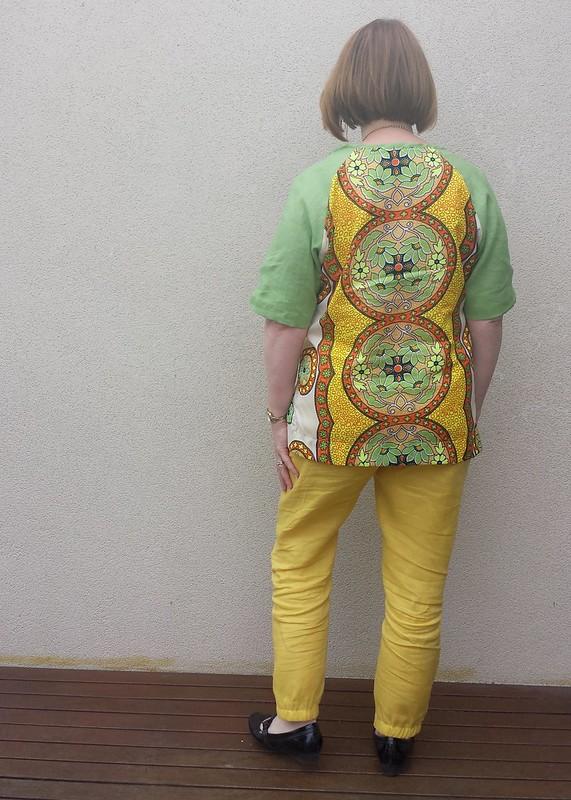 Style Arc Meg Raglan top with Style Arc Lola pants