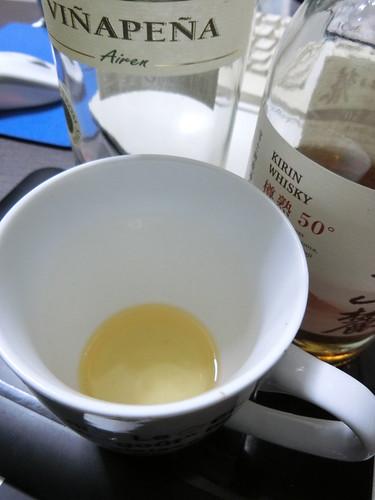 白ワインと混ぜると飲みやすい
