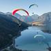 autumn paragliding