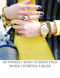 Not Dressed As Lamb | 10 Things I Wish I'd Been Told When I Started a Blog