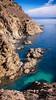 Salto del Caballo y garitón atalaya del Palmar; monte Hacho, Ceuta