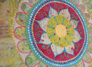 Week 8 - Mandala over Collage 2
