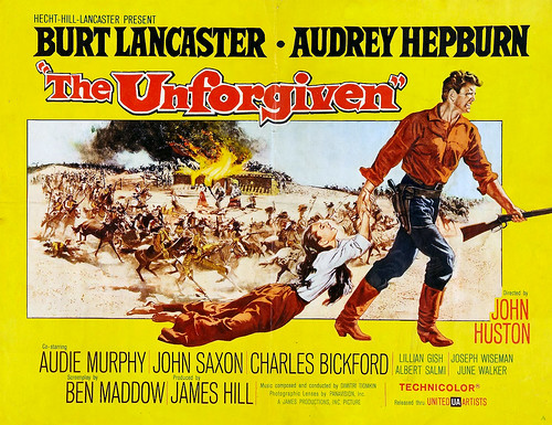 Audrey Hepburn, The Unforgiven (1960, John Huston) starring Burt Lancaster