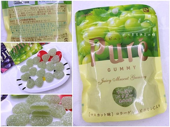 20 日本人氣軟糖推薦 UHA味覺糖 KORORO pure 甘樂鮮果實軟糖
