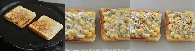 Corn Cheese Toast Recipe - Step6