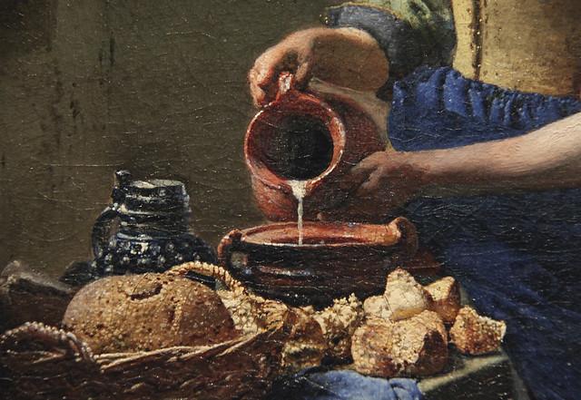 The Milkmaid, Johannes Vermeer, 1660