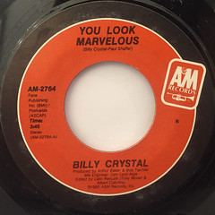 BILLY CRYSTAL:YOU LOOK MARVELOUS(LABEL SIDE-A)