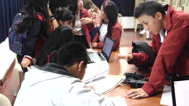 Jornada de votación consejo estudiantil y personero institucional