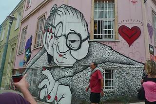 Valparaiso - Street art graffiti