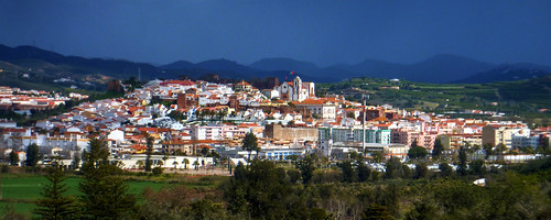 Portugal - Algarve - Silves - view of the town