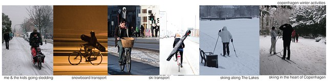 Copenhagen Winter Activity Urbanism