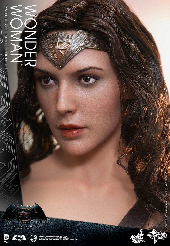 Hot Toys – MMS359 – 蝙蝠俠對超人:正義曙光【神力女超人】Wonder Woman 1/6 比例人偶作品