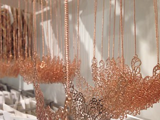 H&M: Necklace Display