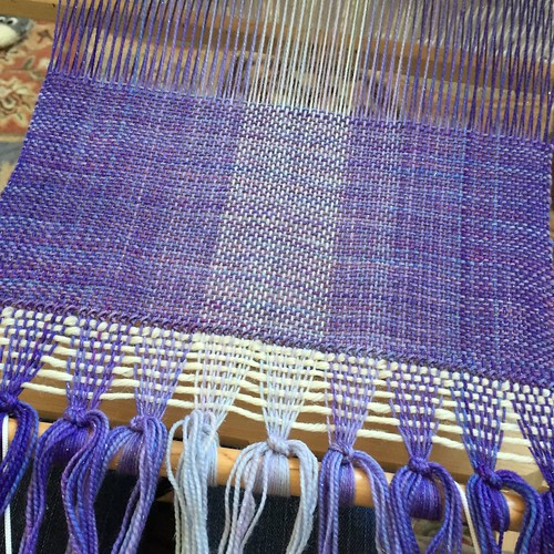 Fourth weaving project