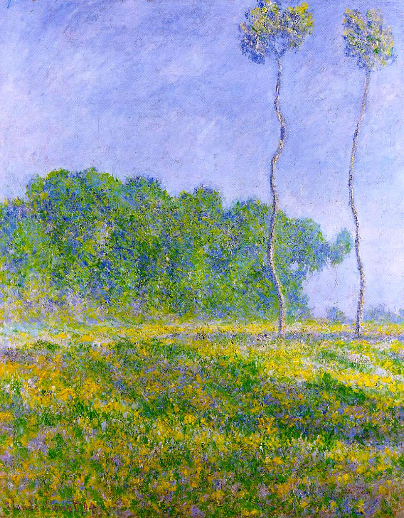 Spring Landscape by Claude Monet, 1894