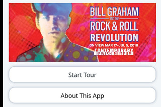 Contemporary Jewish Museum - Bill Graham Rock Roll Revolution app