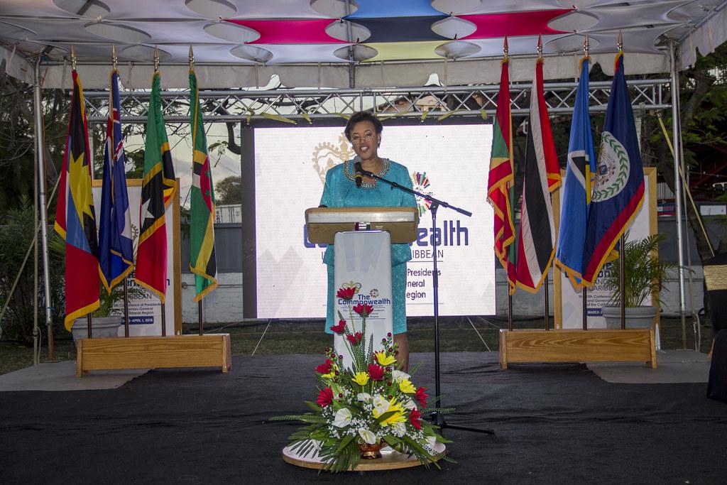 Commonwealth Secretary-General: Rt Hon Patricia Scotland QC