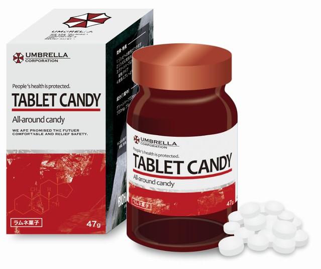 吃了不要緊嗎?《惡靈古堡》20週年紀念 保護傘公司藥劑造型汽水糖
