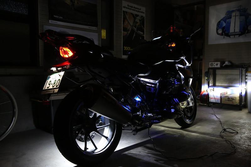 BMW R1200RS LED Custom Final